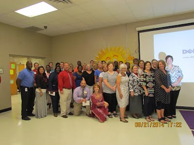 Staff at Open House 2014